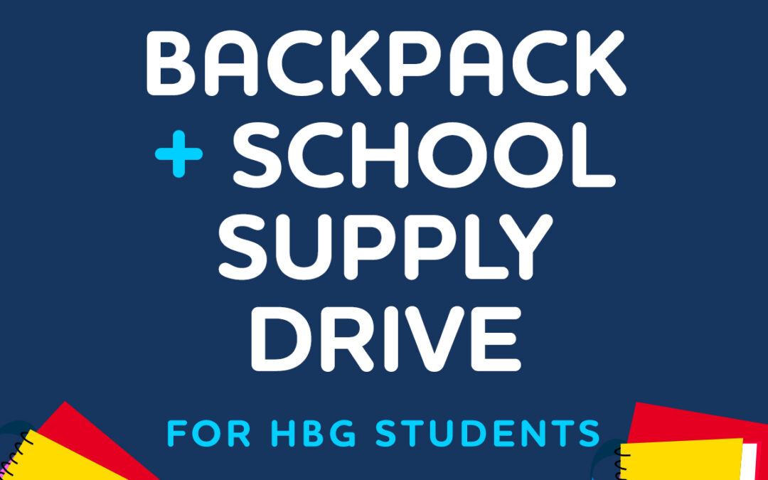 School Supply Drive for HBG Students